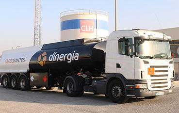dinergia empresa suministro carburantes